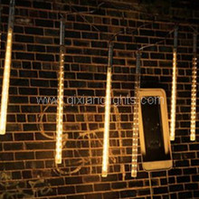 Wholesale Warm White outdoor led solar meteor shower tree light