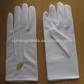 Etiquette And Service Dotted Gloves