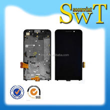 Wholesale oem lcd with touch and frame spare parts for blackberry Z30 A10 Aristo by dhl