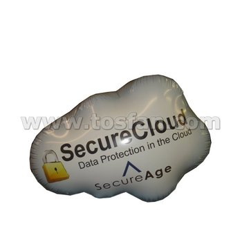 Advertising inflatable cloud helium balloon F2062