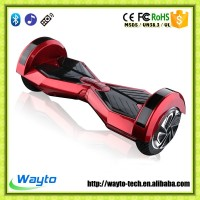 Future transport 2 wheel self balancing electric scooter bluetooth 8inch