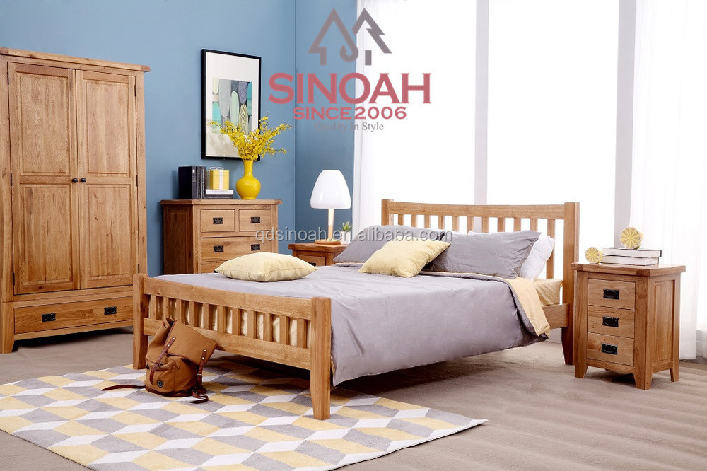 2015 bed designs solid wood bed oak furniture