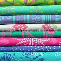 100% polyester microfiber fabric with water proof for bedsheet for home textiles
