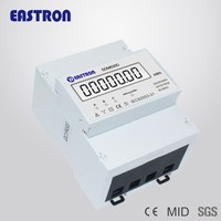 SDM630D 3 Phase Energy Meter Power, Watt Meter, Power Analyzer, Big LCD Display, Up to 100A