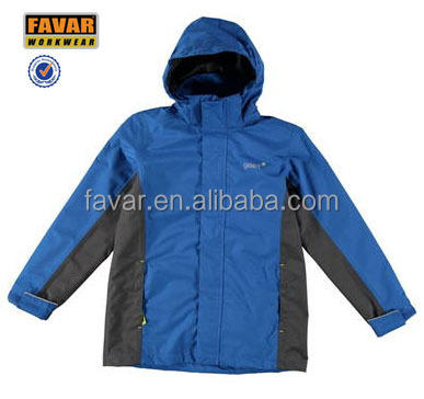 high quality breathable waterproof nylon jacket for kids