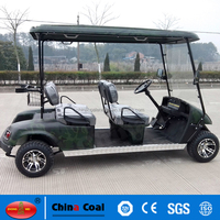 YMGF-E4S 4 seat golf cart with 4 person