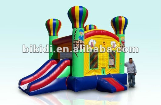inflatable adventure bouncer,pvc inflatable combo B3012