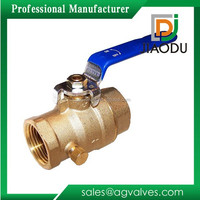 "3/4"" Lead-Free Brass Ball FIP Threaded Ball Valve with Waste 3/4-Inch"