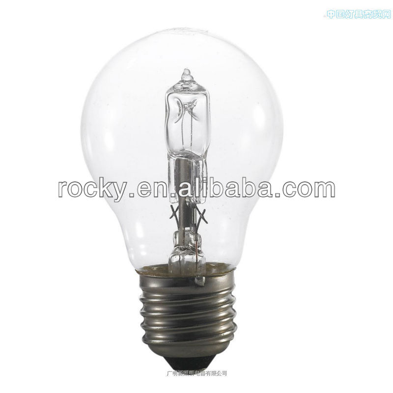 A60 incandescent halogen lamp 60w 75w b22