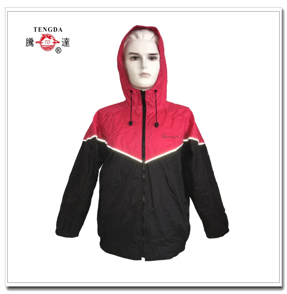 OEM rubber raincoat for woman