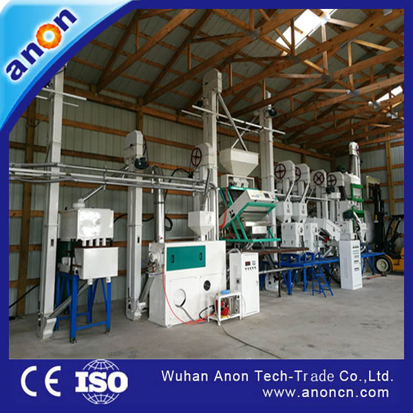 Anon Complete Rice Mill Machine 30-40TPD