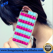 2014 wholesale fashion rhinestone phone case for iphone6
