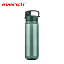Everich 2018 BPA Free Plastic Sports Water Bottle With Flip Lid Easy Carry for Outdoor Sports Camping