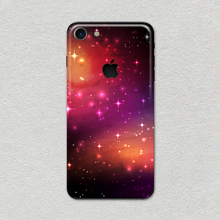 New mobile phone outer space skin care popular fashion slim sticker for apple iPhone 7 8