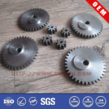 Factory price good design small aluminum gear/steel gear