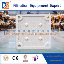 Type Anti-Corrosion Chamber Filter Press PP Filter Plate