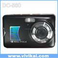 "Cheap compact digital camera with 2.7"" TFT LCD screen and 8X digital zoom"