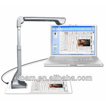 5.0 Mega Pixel 2592x1944 USB2.0 Color Camera Scanner Portable/Handy/High Speed/1 Second Scanning/OCR S600