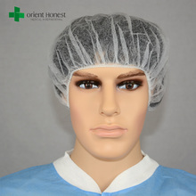 Medical Disposable Non-Woven Colored Fashion Hair Nets