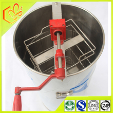 with hand crank honey extractor used 2 frames manual extraction machines of beekeeping appliances
