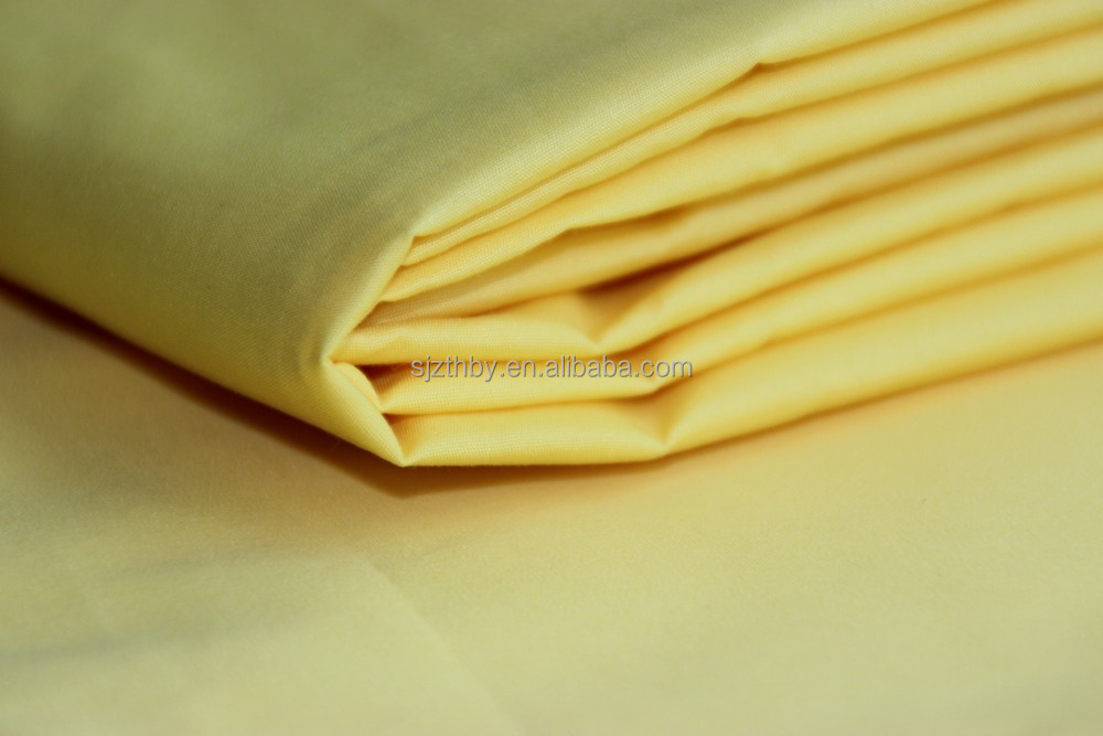 60 cotton 40 polyester fabric white cotton factory in china