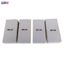 High density light weight mullite insulation brick price heat resistant materials