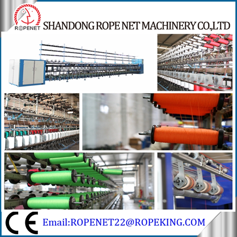 PP machine agricultural wrapping yarn twisting machine