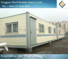 Modular prefab home kit price,low cost portable container module house