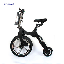 Fashion style mini folding electric bicycle e road bike
