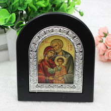 Holy Family Wood Icon