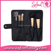 6pcs personalized cosmetic brush kit eyebrow makeup