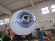 attractive led light inflatable eye ball for party/event/stage/club