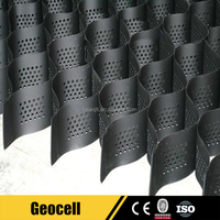 Interlocking plastic grass pavers drainage cell geocell for parking lot