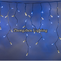 2015 commercial super bright led christmas twinkling stars icicle lights