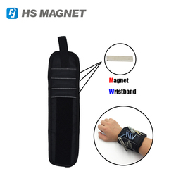 Hangzhou HS Magnetics Magnetic Wristband Screws Nails Holding Strong Tool Magnets Belt Band Tools