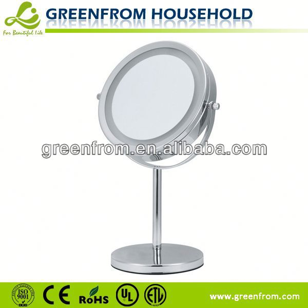 7 Inch Double Sides Light Up Adhesive Mirror Coated Paper