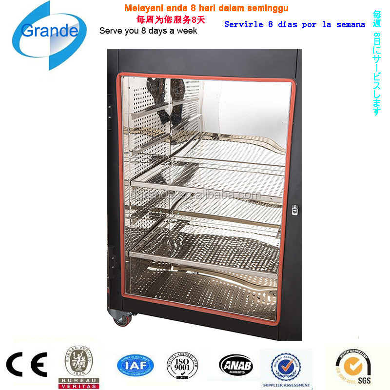 CE certifited newly design hot air circulation drying high temperature controlled oven