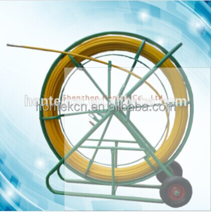 Fiberglass High strong FRP Duct Rodders/electric cable duct rod