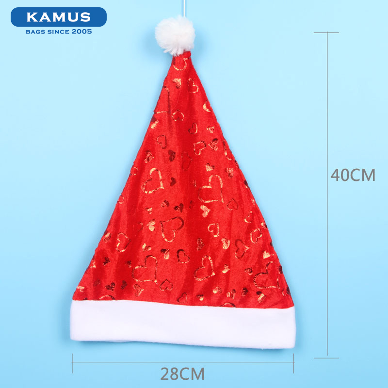 kamus brand New Home Party Decor Christmas Gift Christmas Santa Claus Hat For Adults / Kids
