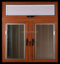 china products aluminum window with roller shutter louver prices malaysia