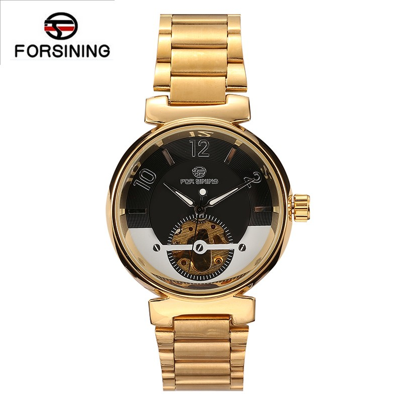 hot designer <strong>watch</strong> women fashion skeleton wristwatch men luxury stainless steel band sports tourbillon forsining automatic <strong>watch</strong>