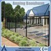 4x4 galvanized square metal iron mesh fence gate posts