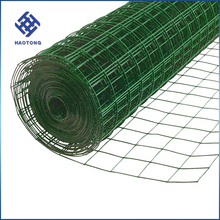 Factory price 1x1 pvc painting powered coated welded wire mesh