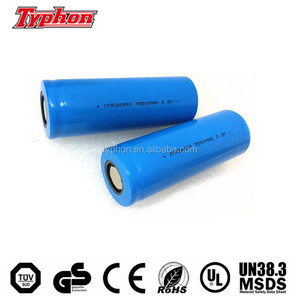 Rechargeable Lifepo4 batteries IFR32900 3.2v 4500mah 5000mah 5500mah 32900 Cylinder LiFePO4 Cell
