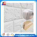 white color XPE Foam Wallpaper