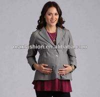 women office maternity jacket,women career jacket, maternity career jacket