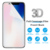 Upgraded Version 3D Smooth Full Cover Wet Film TPU Invisible Screen Protector for Samsung iPhone X 8