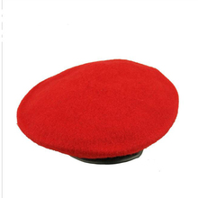 wholesale fashionable men wool red male beret