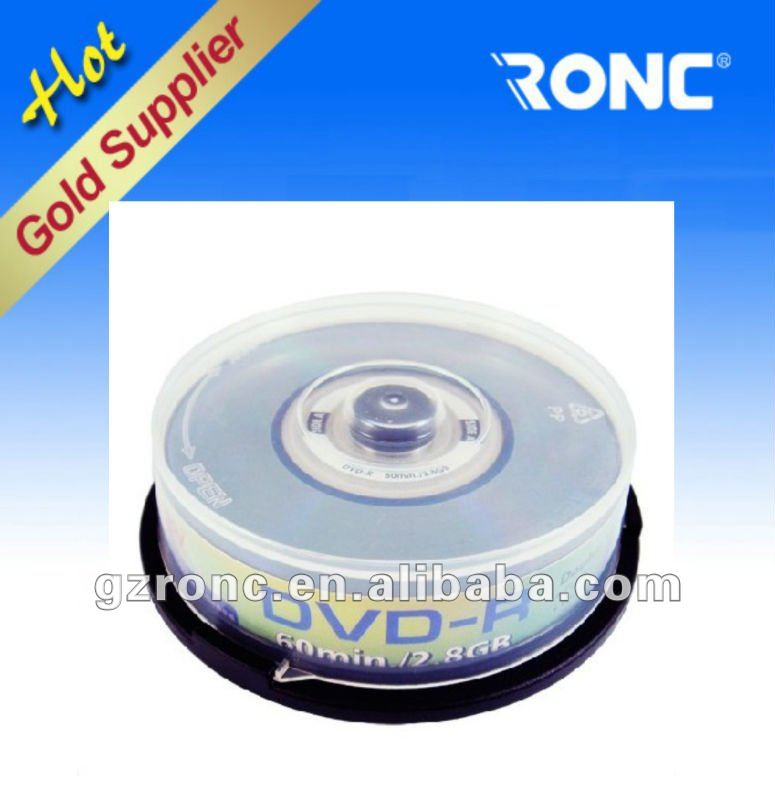 RONC best price and high quality 8cm blank dvd+r mini best price Guandong DVD Factory