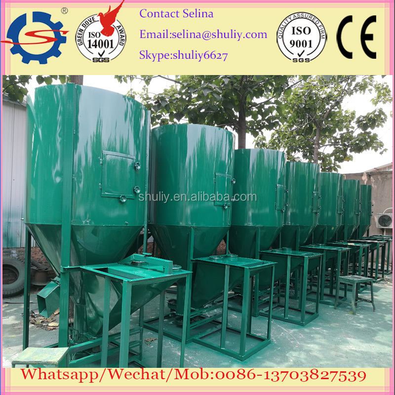 Large daily output feed mill and mixer for small scale poultry farm animal poultry feed mill
